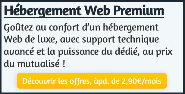 Hébergement Web Premium